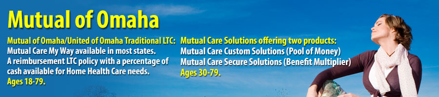 Mutual of Omaha and United of Omaha Traditional LTC and Mutual Care Solutions